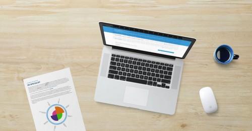Laptop content maken voor Vakspiegel