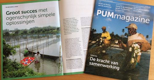 Contentcreatie en management voor PUM magazine